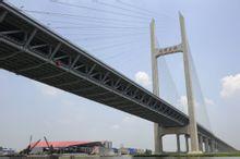 享鑫异型方管应用案例之世博配套工程闵浦大桥T型梁
